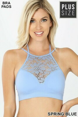 Hi Neck Lace Bralette L/XL & S/M!!