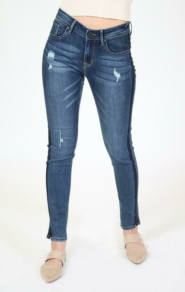 Side Strip Easy Fit  Sizes 34 to 26!!