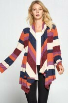 Long Sleeve Draped Cardigan  XL to S!