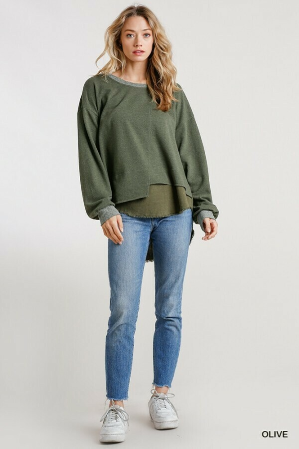 Linen Blend Layer Top  2XL to S!!  Going Fast!!