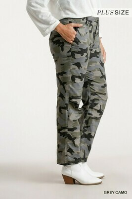 Straight Grey Camo Pants 2XL to S!