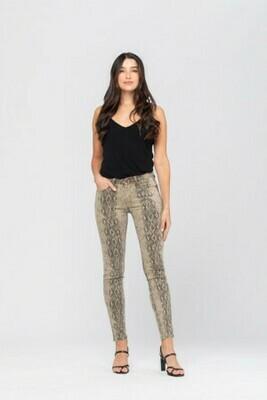 Judy Blue Snake Skin Skinny Jeans Size 15 to Size 5!!