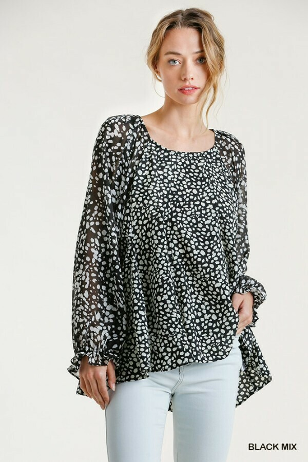 Dalmation Top  L to S!! UMGEE