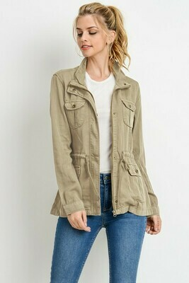 Tencel Jacket - 3XL to S!  Runs Small!!