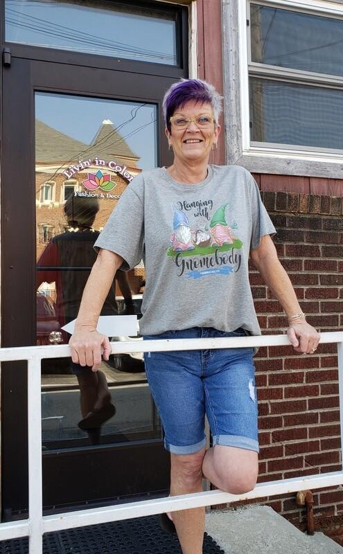 Gnomebody T-Shirt  3X to S!!