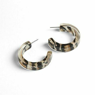 Hoop It Up Animal Earring