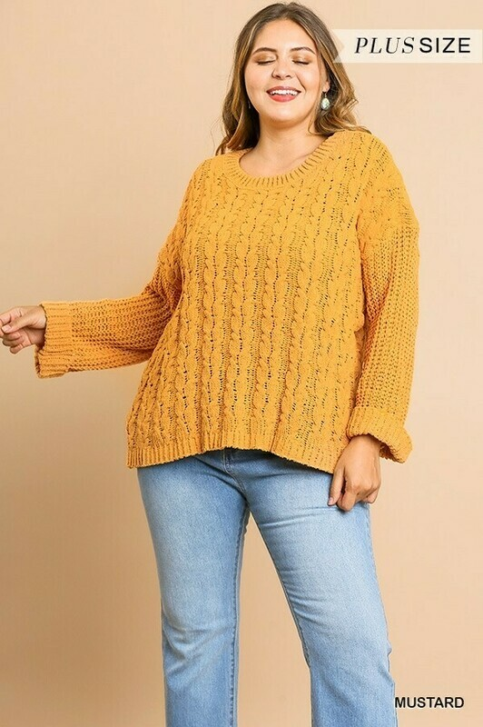 UMGEE Chenille Pullover Sweater  2XL to S!!