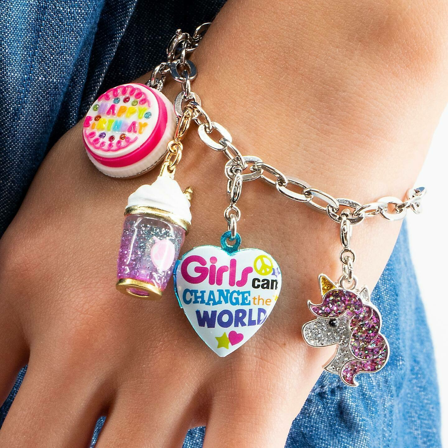 Charm Bracelet for your little girl!!