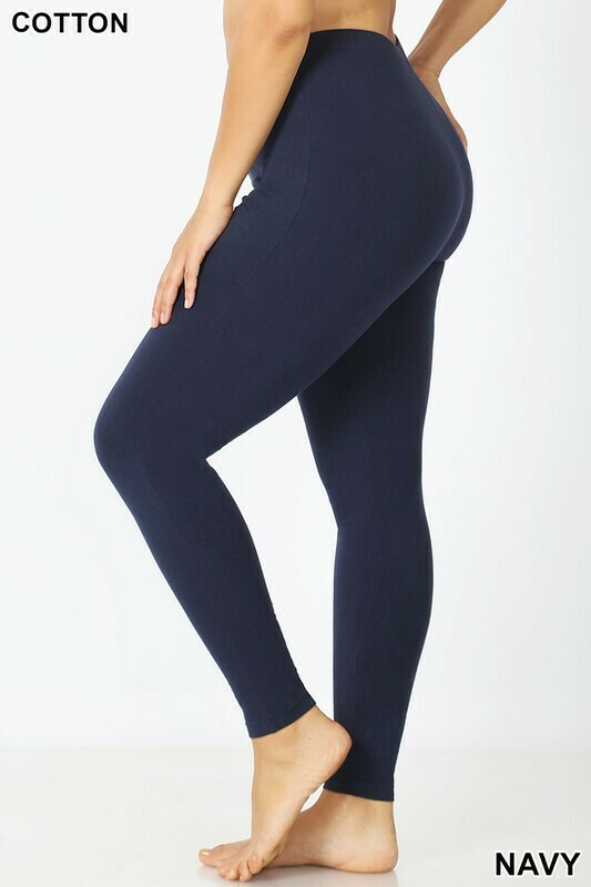 Cotton Leggings  3X to 1X!!  Comfy!