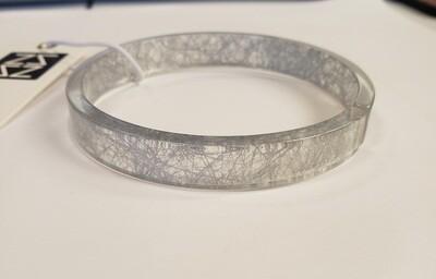 Static Silver Stack Bracelet
