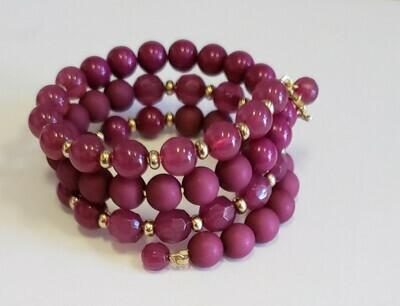 Matte Beaded Bracelet