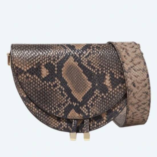 Ava Messenger Snake Bag