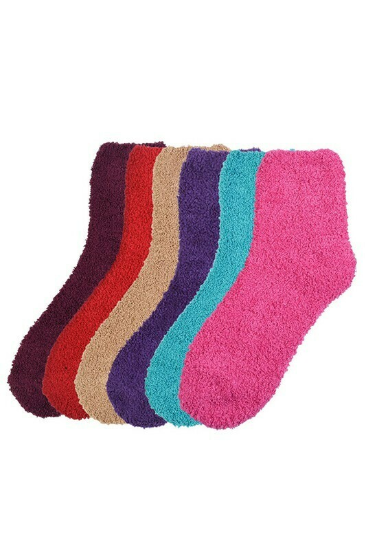 Fuzzy Socks - Women