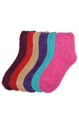 Fuzzy Socks - Women