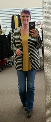 Snap Cardigan 3X to S!!