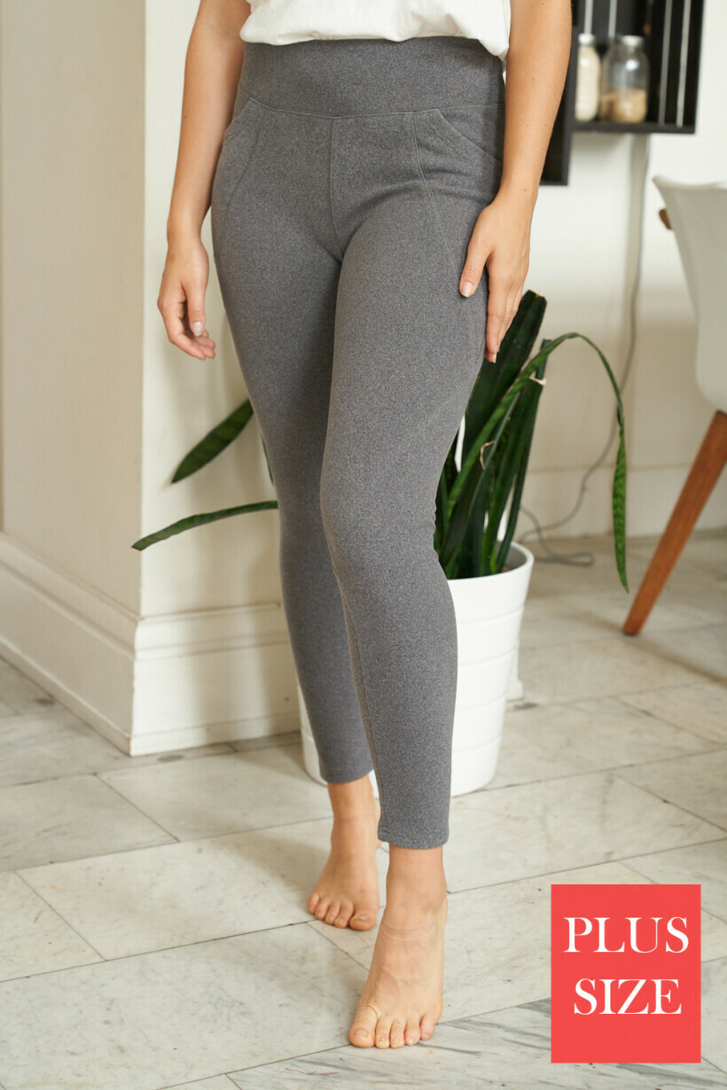 Long Knit Pant/Legging with Pockets!!  3X to S!!!
