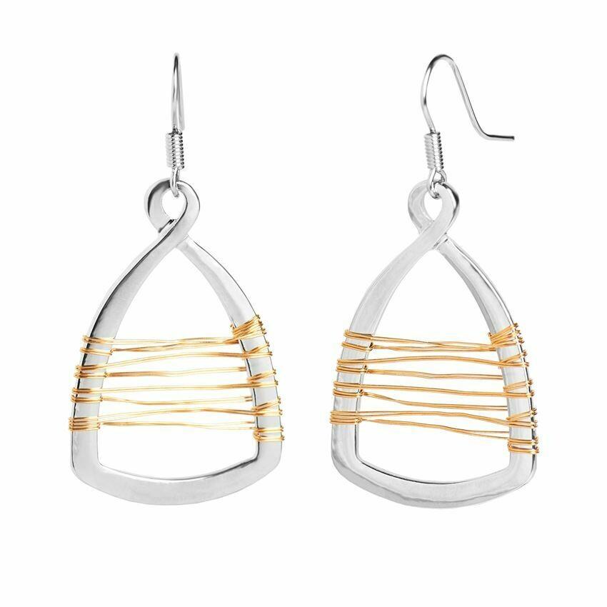 Wire Infinity Earring