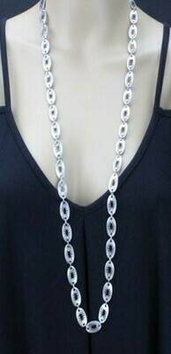 Long Punchout Necklace - Lightweight!!!
