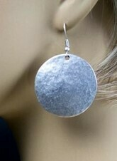 Solid Circle Earrings - Lightweight!!