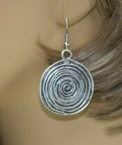 Circle Fun Earrings - Lightweight!!