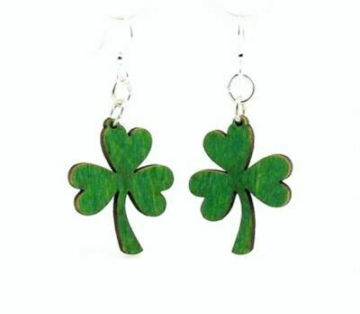 St Pattys Holiday Earrings - FUN!