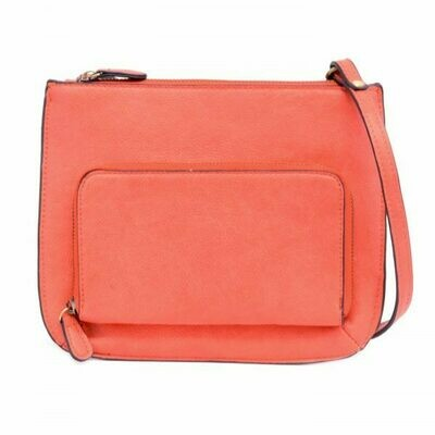 Cross Body with Exterior Pocket
