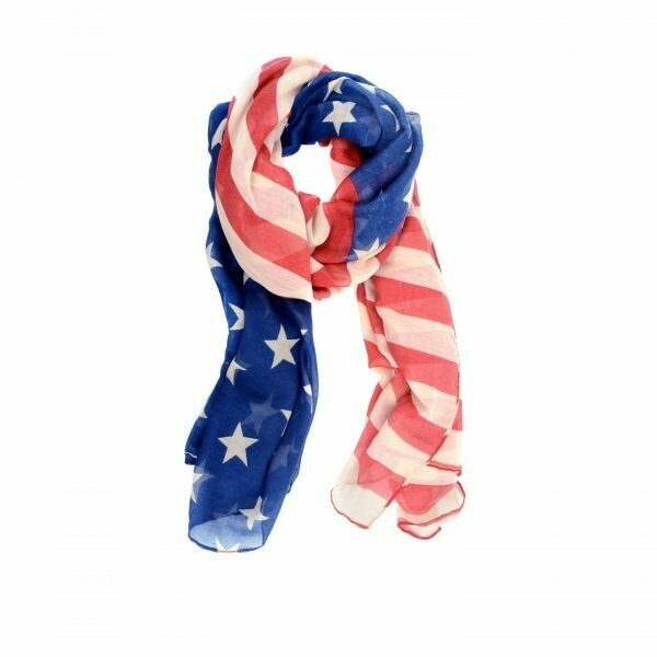 4th of July Scarf!!