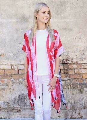 Betsy Ross Flag Kimono - Perfect for the 4th!!