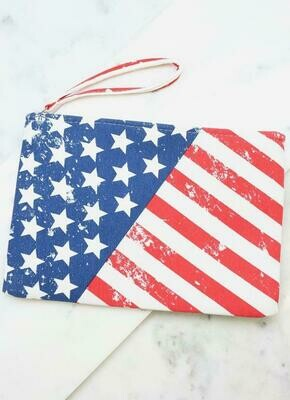 Flag Pouch - Show your pride on the 4th!!