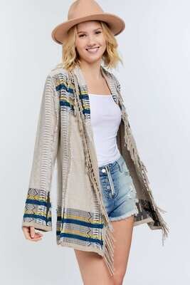 Multi Color Open Cardigan - My FAVE!!  L to S!