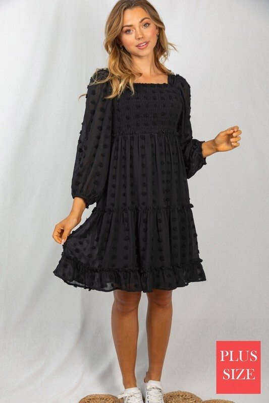 Smocked Dress 3X to S!!  So Fun and Cute!!