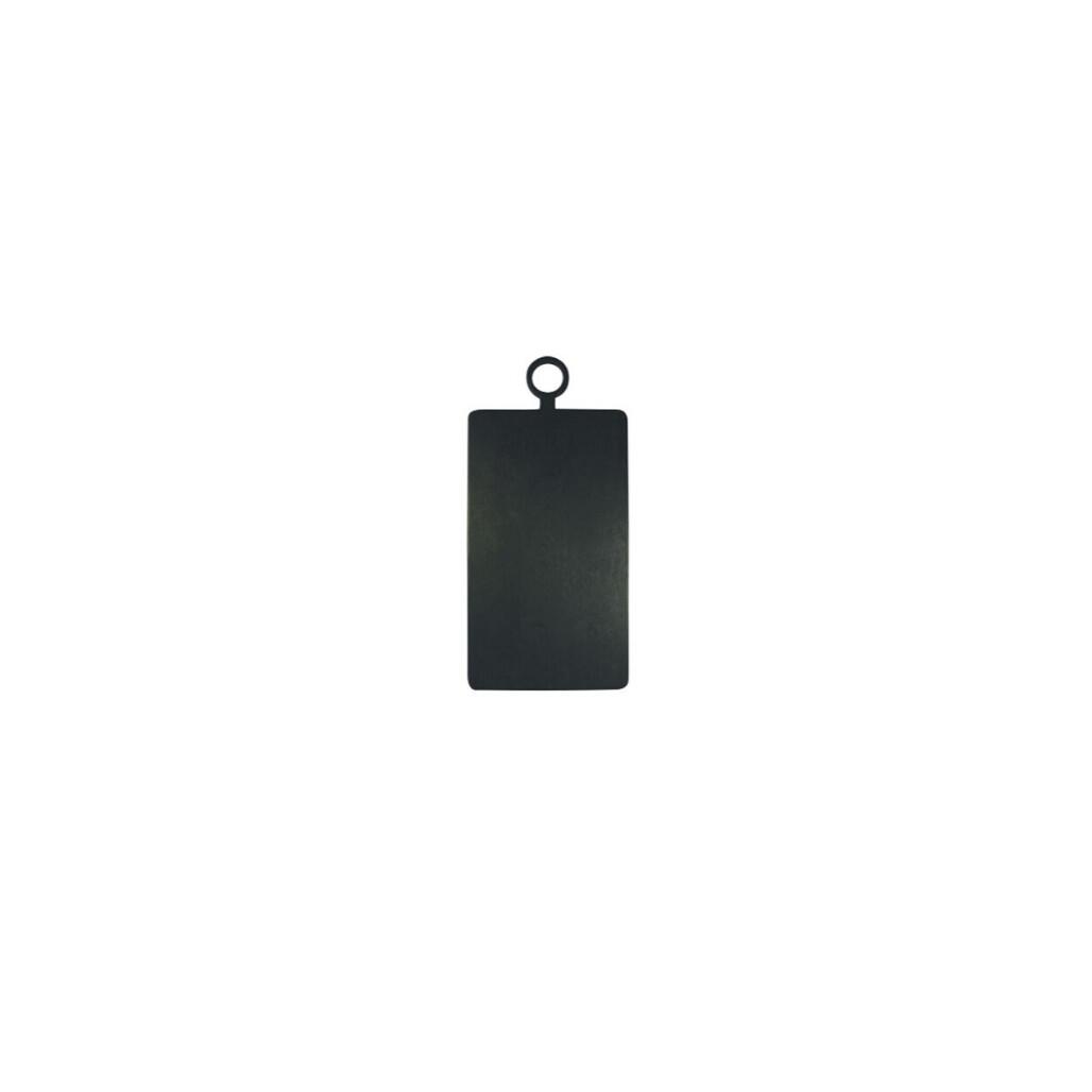 Black Rectangle Cutting Board