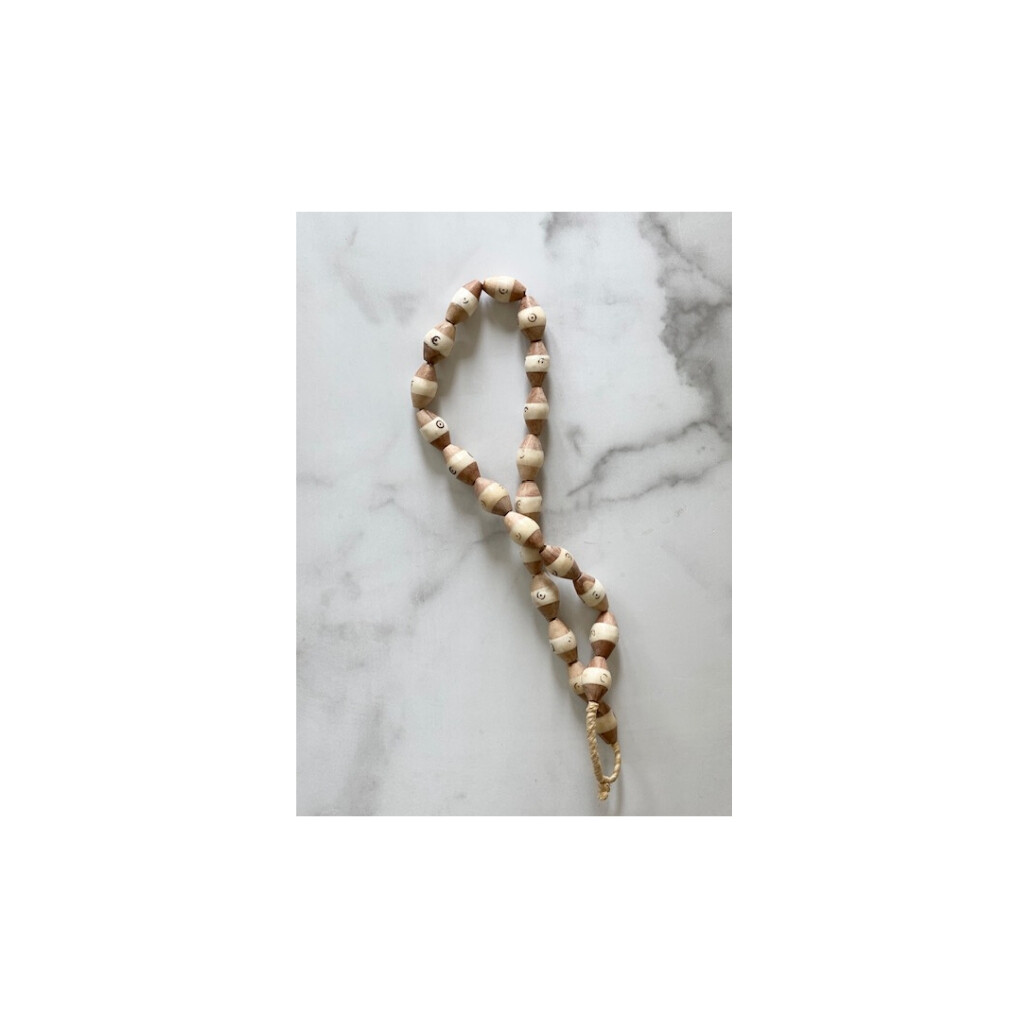 Two Tone African Beads