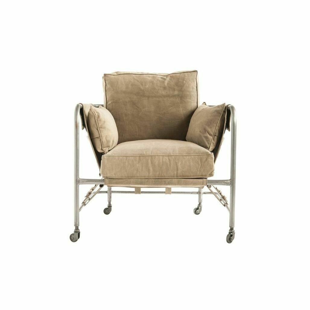 Canvas & Metal Sand Chair