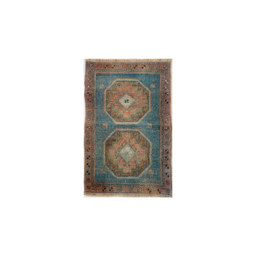 Maya Vintage Prayer Rug 18