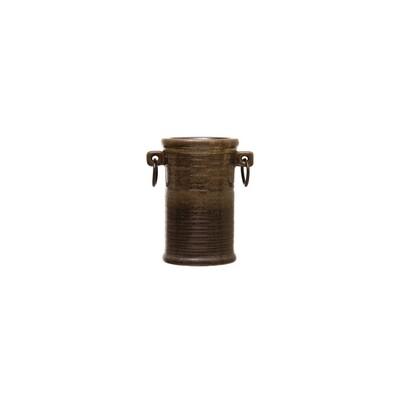 Stoneware Wine Bucket w/ Handles