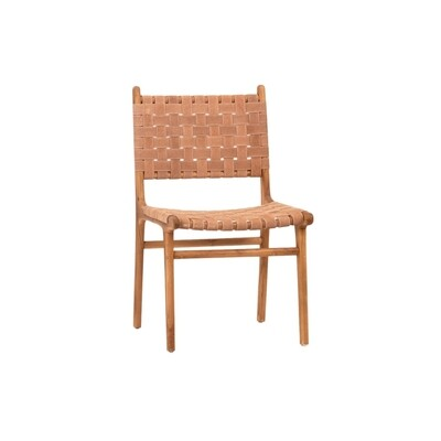 Emerson Leather Strap Dining Chair