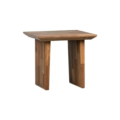 Clark Reclaimed Teak End Table