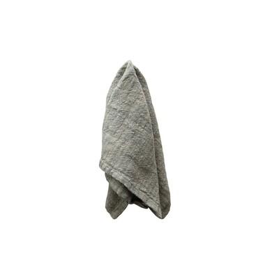 Worn Blue Linen Napkin