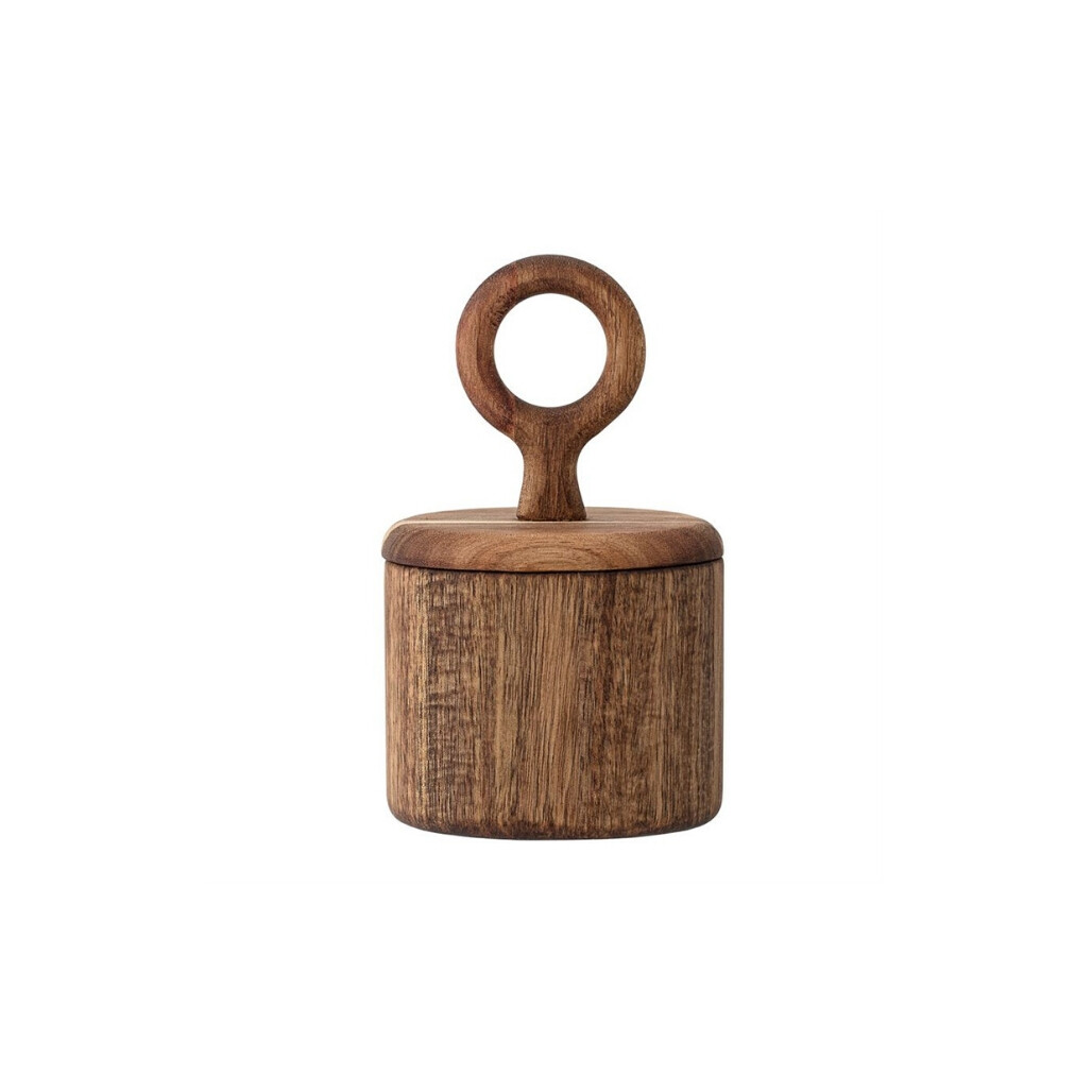 Acacia Wood Canister