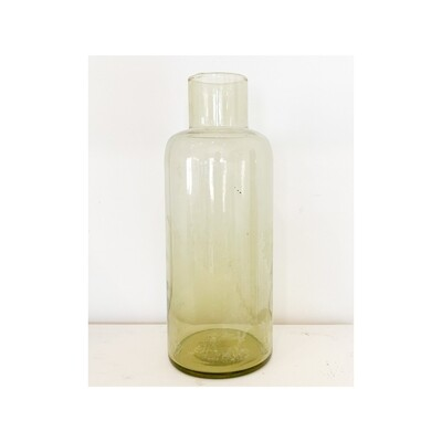 Olive Recycled Glass Bottle