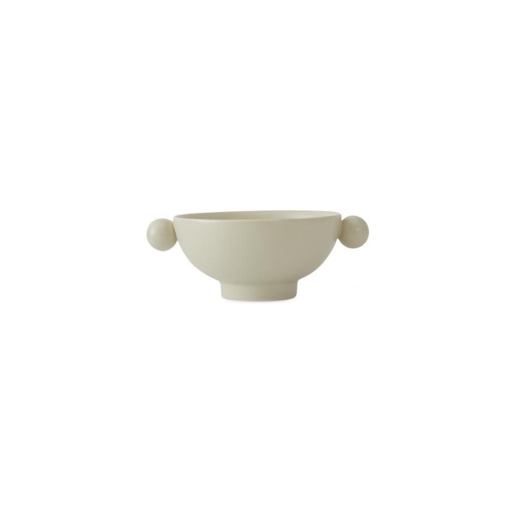 Abrams Bowl w/ Round Knobs