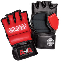 Red Combat Weapon Gloves