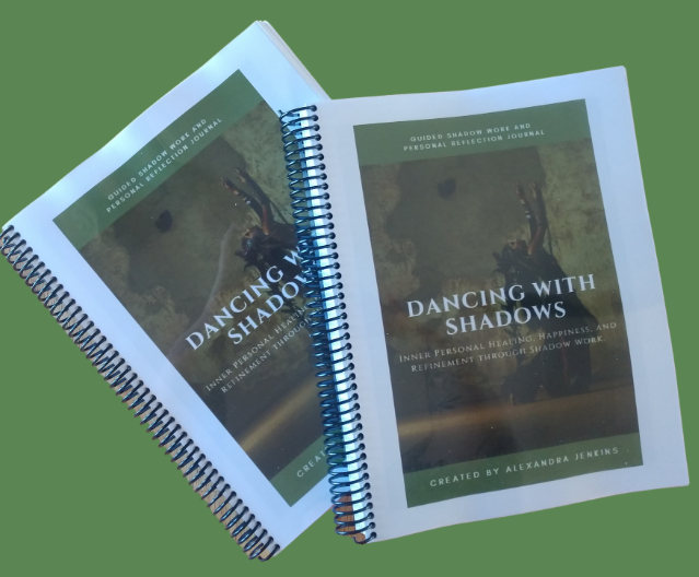 PRINTED COPY Shadow Work Guide Book and Personal Inquiry Journal