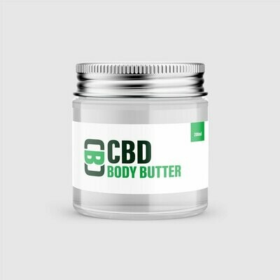 CBD Body Butter, 200mg