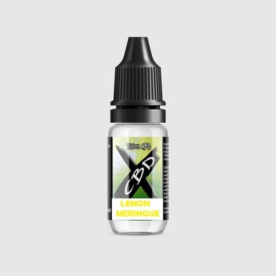 CBD X E-Liquid Lemon Meringue 100mg