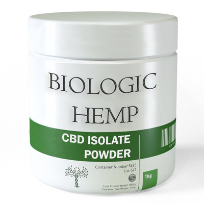 CBD Isolate 99.9% Wholesale 1kg+