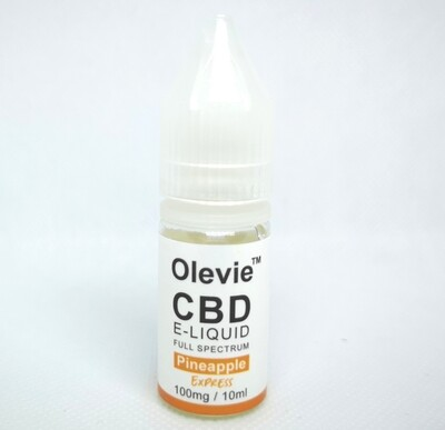 CBD Vape 100mg 10ml Full Spectrum Pineapple Express