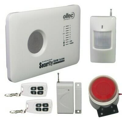GSM-KIT-10 - беспроводный комплект автономной GSM сигнализации.