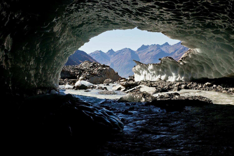Höhlengrund unter Wasser – Langgletscher – 22. Oktober 2018